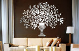 De acryl Decoratie van het Huis van de Sticker van de Spiegel