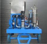 열교환기 고압 세탁기술자 청소 기계 시험 펌프