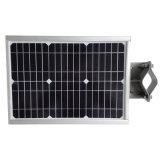 Nuovo 6W tutto in un indicatore luminoso di via solare