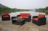 Plastikgarten-Sofa, Freizeit-Sofa, Patio-Sofa für im Freien