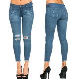 卸し売り女性の方法ジーンズの2017年の綿のデニムのジーンズ