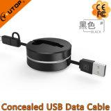 이동 전화와 iPad를 위한 1개의 USB 비용을 부과 케이블에 대하여 새로운 2