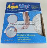 Половой коврик циновки пробки ванны PVC Loofa рынка Европ Anti-Slip