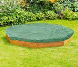 Salvadera de madera al aire libre Sandpit del patio octagonal de los niños