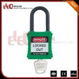 Padlock безопасности сережки пластмассы 38mm с ключ для всех замков