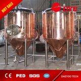 El tanque cónico de cobre de la elaboración de la cerveza de la fermentación de la fermentadora de la cerveza para la venta