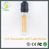 Bulbos de Edison de la lámpara del certificado LED de la UL Listed/Ce de Stoele T15