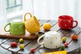 Promotional Glazed Corlor Stoneware 16oz Coffee Mug