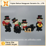 Mini Figurines su ordinazione degli ornamenti della gente di ceramica del camino