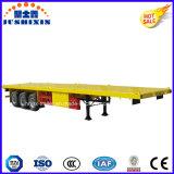 40 van 3axles van het Platform van de Container van de Lading van de Vrachtwagen voeten Aanhangwagen van de Tractor van de Semi