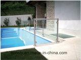 Im Freienzaun-Glasgeländer-Zapfen/Glashandlauf-System