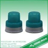 tampões de parafuso com nervuras de 28mm para o frasco cosmético