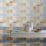 Glasig-glänzende keramische Wand-Innenfliese für Küche/Badezimmer