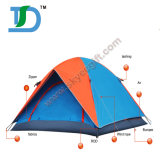 High quality Two Layer Waterproof Folding Professional camping Tent