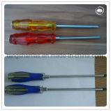 Tipos da ferramenta da chave de fenda de aço