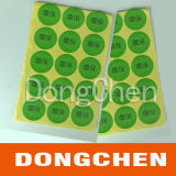 Hot Sale Roll PP Cosmetic Bottle Self Adhesive Labels