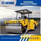 XCMG Xd122e 12ton doppelte Trommel-Gummigummireifen-Straßen-Rolle