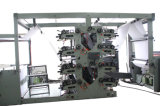 2, 3, 4 Farben Flexo Drucken-Maschine für das Übungs-Buch, das Notizbücher Ruling Maschine herstellt