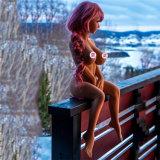 Горячая продавая кукла секса маленькой девочки TPR груди 100cm большая