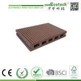 Decking composé en plastique en bois de 145*22mm Hohecotech pour le projet extérieur