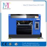 Kleine LEIDENE UVPrinter, Flatbed Digitale Printer van de Grootte van de Machine A3 voor Om het even welke Harde Materialen, met Vijf Kleuren en Hoge Resolutie