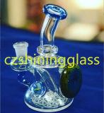 Neue kleine bunte Hand durchgebrannte Glaswasser-Rohr-Pfeife