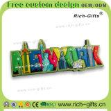 Ricordo permanente personalizzato New York (RC- Stati Uniti) dei magneti del frigorifero dei regali della decorazione