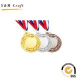 Medaglia di marchio impressa pittura all'ingrosso dell'oro per concorrenza corrente