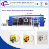 Envase encontrado automático de múltiples funciones del rectángulo de almuerzo que forma la máquina