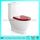 Toilette sanitaire d'articles de Foshan avec le mécanisme affleurant duel de réservoir