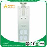 A luz de rua solar 60W do diodo emissor de luz da eficiência elevada com LiFePO4 a bateria IP65 aprovou