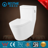 Toilette de carte de travail de prix usine avec le système d'éclat de côté (BC-2014)
