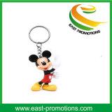 Großhandelsgeschenk-kundenspezifischer Plastikring Keychain