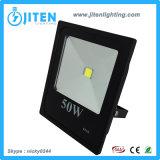 50W indicatore luminoso di inondazione della PANNOCCHIA LED, proiettore IP65 per uso esterno 10W-100W