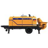 M3/H diesel y eléctrico de la fabricación de la polea 30-110 para la bomba concreta portable del ambiente áspero para la venta en Indonesia (HBT80.16.116S)