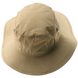 Protezione di nylon della benna di Boonie del cappello di protezione su ordinazione di Sun con stringa