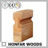 Поручень лестницы твердой древесины овальный для украшения