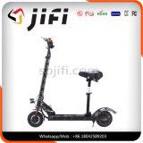 Scooter eléctrico de dos ruedas con la pantalla