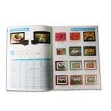 Impression neuve de catalogue de papier d'art de bonne qualité de modèle avec UV