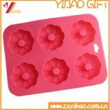 Moulage Fleur-Shaped de gâteau de silicones de vente chaude