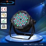 54*3W RGB RGBW 3in1 4in 1 LED-NENNWERT Licht-Berufsstadiums-Beleuchtung
