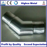 Carpintero enrasado codo del tubo de 135 grados para la barandilla del acero inoxidable