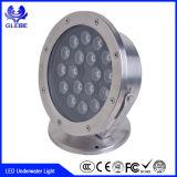 indicatore luminoso subacqueo dell'indicatore luminoso della piscina di 7W LED (impermeabile riempito di resina) LED di 100%