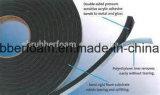 Nastro laterale della gomma piuma del PVC di Doubile della parete divisoria del nastro di vetro della gomma piuma