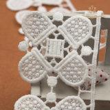 5cm 3D 꽃 레이스 직물 자수 레이스