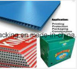PP Flute Plate Coroplast Corflute Backboard / Waterproof Polypropylene Corrugated Sheet