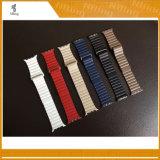 Vendas de cuero para Iwatch, correas de cuero para el reloj de Apple, vendas de cuero del bucle del bucle del bucle de 38mm/42m m para la venda de reloj de Apple