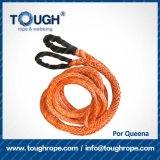 fibra 100% resistente de Uhwmpe da corda da corda sintética do guincho 4X4