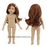 18 인치 가득 차있는 비닐 미국 새로운 소녀 인형 형식 다시 태어난 아기 장난감