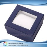 Montre/bijou/cadeau de luxe cadre de empaquetage en bois/papier d'étalage (xc-hbw-008)